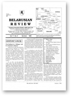 Belarusian Review, Volume 11, No. 2