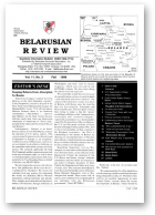 Belarusian Review, Volume 11, No. 3