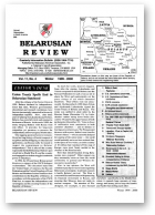 Belarusian Review, Volume 11, No. 4